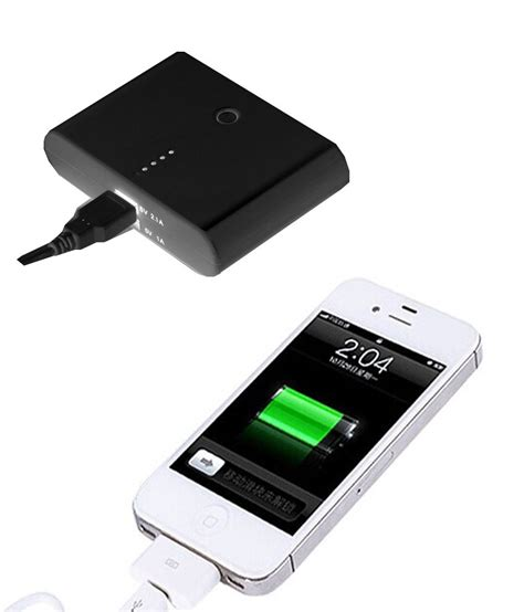 Usb Mp3 Mobil Vox Power Bank 12000mah Portable Dual Usb For Mobile Mp3 Player With Free Charger Black