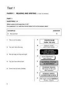 Write And Essay by Ket Reading And Writing Practice