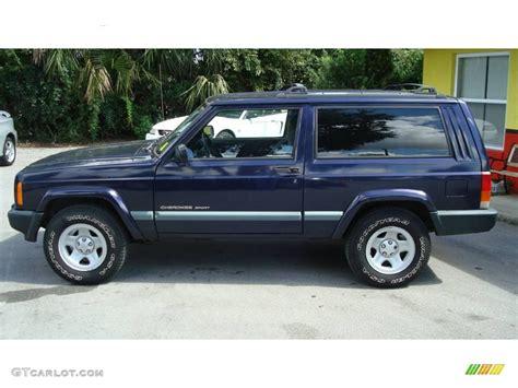 Patriot Blue Jeep 1999 Patriot Blue Pearl Jeep Sport 18573248