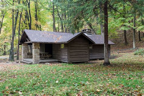 Pennsylvania State Park Cabins by Cook Township Westmoreland County Pennsylvania