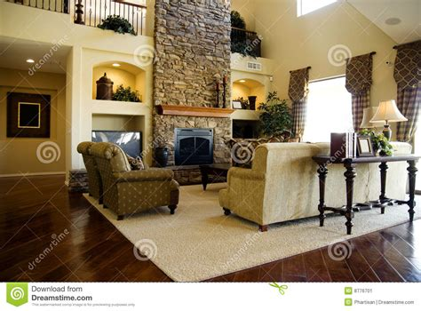 wood flooring in living room area stock image image