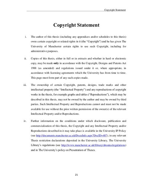 copyright dissertation thesis dissertation copyright and embargo agreement