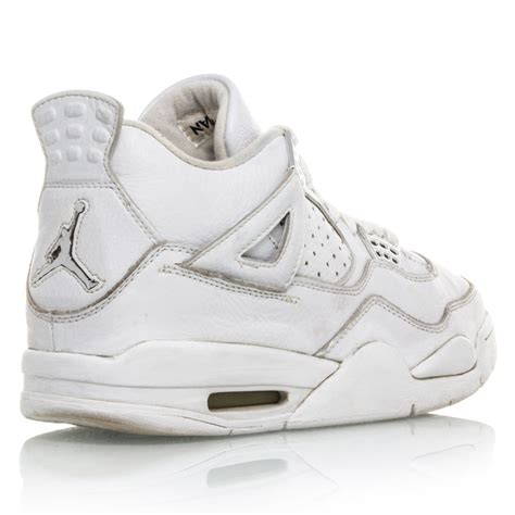 chrome basketball shoes buy air 4 retro mens basketball shoes white