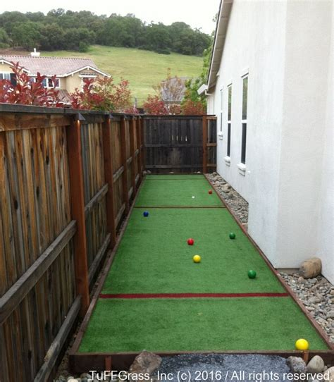 backyard bocce ball court 1000 ideas about bocce court on pinterest bocce ball
