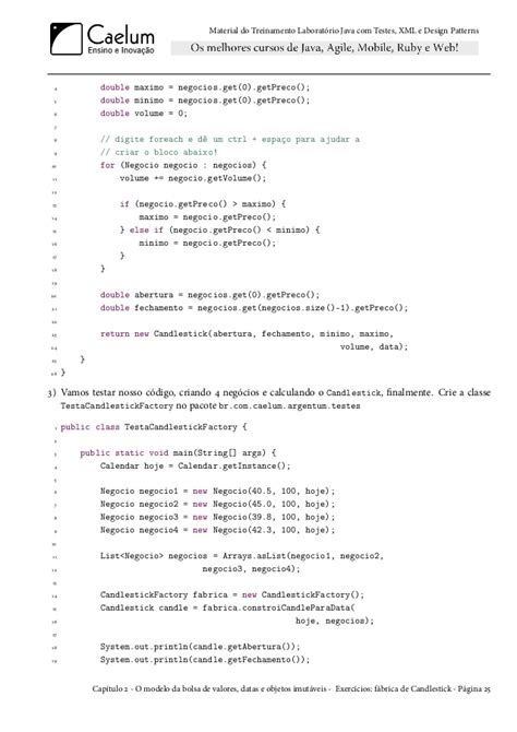java design pattern xml caelum java testes xml design patterns fj16