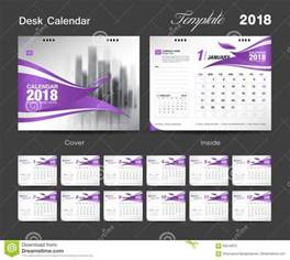 Calendar 2018 Indesign Set Desk Calendar 2018 Template Design Cover Stock
