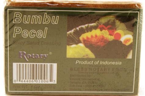 Sambel Pecel 2 Pack rotary bumbu pecel spicy salad dressing paste 7oz 12
