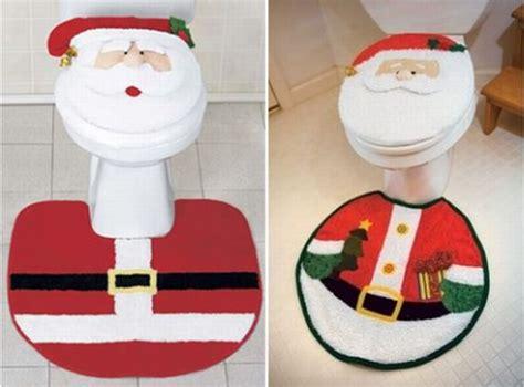 santa bathroom set embellish your bathroom with santa bath set this christmas