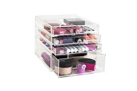 acrylic drawer organizers australia acrylic makeup organizer acrylic makeup organizer clear