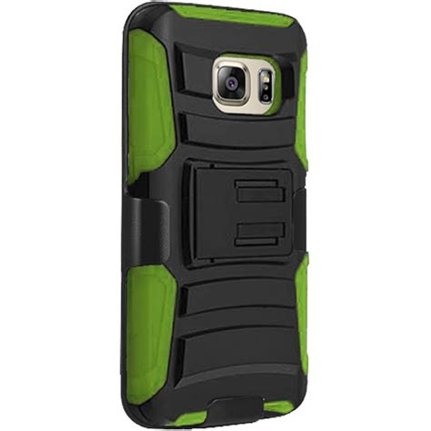 rugged phone cases for samsung galaxy s7 heavy duty rugged stand belt clip holster phone cover ebay