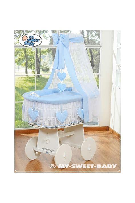 culle di vimini per neonati vimini neonato cuore bianco