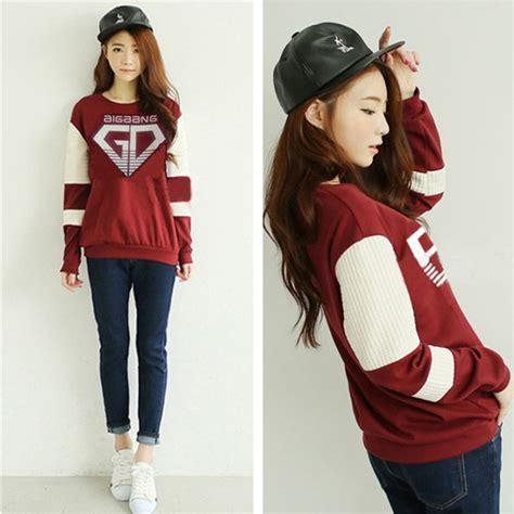 Jaket Hoodie Sweater Bigbang Made sudaderas mujer 2016 kpop bigbang sweatshirt made g taeyang top pullover jumper