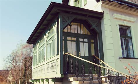 Veranda Jugendstil holz veranda projekte der zimmerei p 246 lsterl