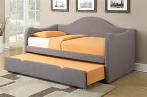 Upholstered Daybed With Trundle How Adorable Best Leather Size Daybed With Trundle Bedroomi Net