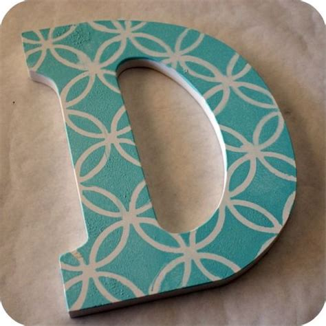 best 25 paint wooden letters ideas on