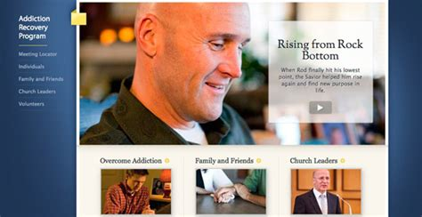 Lds Detox Center by Addiction Recovery Program Site Added To Lds Org Church