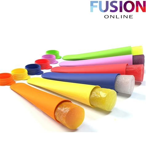Poles Talenan Food Grade silicone lolly maker pole mold lollies maker push up lolly mould ebay