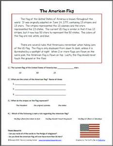 american flag worksheets davezan