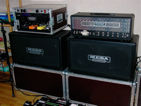 2x12 guitar cabinet mesa boogie recto 2x12 horizontal image 212594