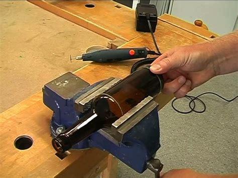 glas schneiden mit flex 6315 couper les bouteilles en verre de sorte qu il fonctionne
