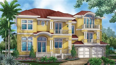 3 story house plans builderhouseplans