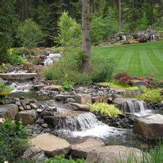 backyard stream construction backyard stream on pinterest backyard waterfalls ponds and water features