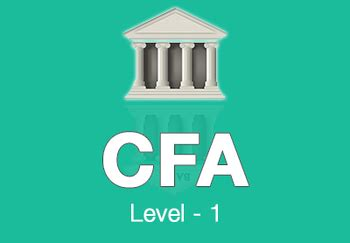 Cfa Mba Combo by Cfa Level 1 Test Papers Free