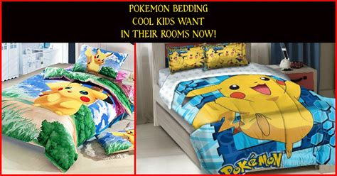 pokemon bedroom decor pok 233 mon bedding are the coolest