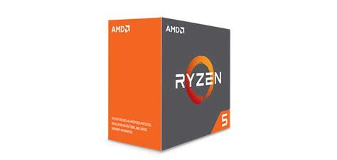 Amd Prosesor Ryzen 5 1400 Hijau ryzen 5 1600x fastest 6 gaming processor amd