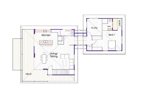 not so big house floor plans not so big house pavillion style ecoliving design