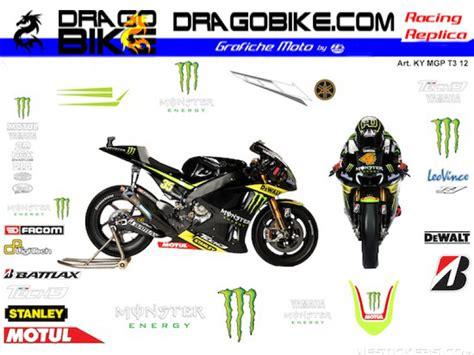 Yamaha Tech 3 Aufkleber by Motorbike Stickers Yamaha Motogp 2012 Tech3 Monster Team