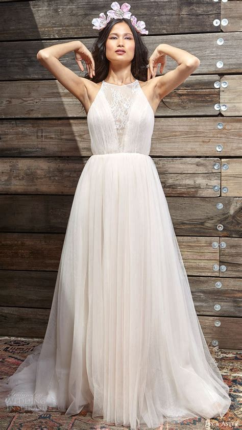 25  best ideas about Halter neck wedding dresses on