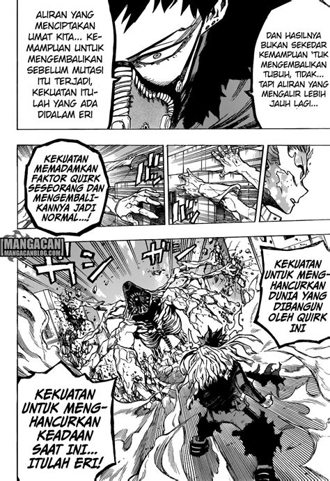 Komik My Boku No Academia Vol 10 my academia chapter 158 indonesia bahasa mangajo komik