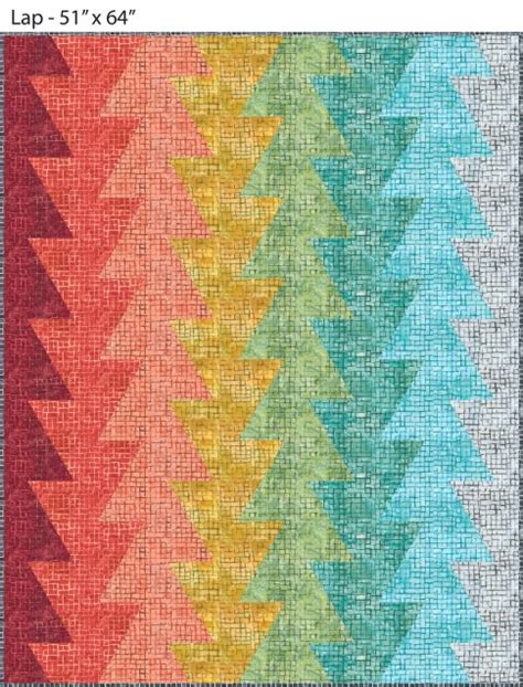 Northern Quilt by Northern Lights Designer Pattern Robert Kaufman Fabric