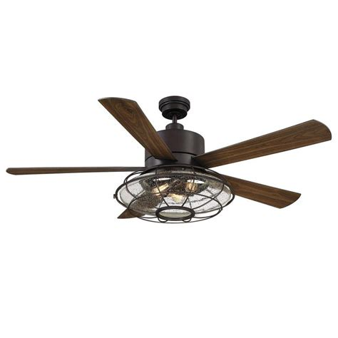 Best 25 Caged Ceiling Fan Ideas On Pinterest Industrial Caged Ceiling Fan With Light