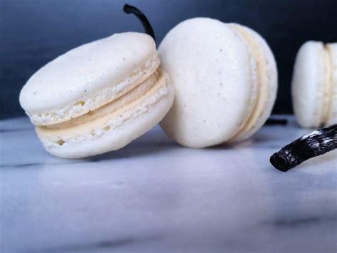 vanilla bean macarons boo pea kitchen