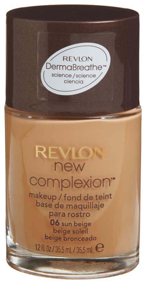 Revlon New Complexion Foundation revlon new complexion makeup warm beige 05