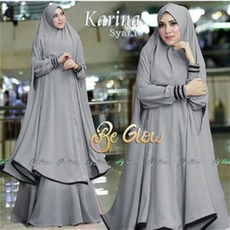 Model Kerudung Bergo Terbaru setelan baju gamis syari jilbab bergo panjang model terbaru