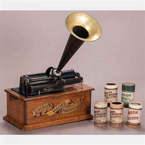 a edison home model phonograph last patent 1900
