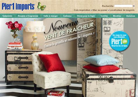 importers of home decor pier imports catalogue