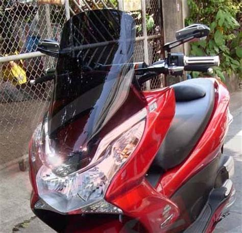 Pcx 2018 Windshield by Honda Pcx 150 Windshield Reviews Prices Ratings With