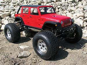 hpi jeep wrangler unlimited rubicon savage xl