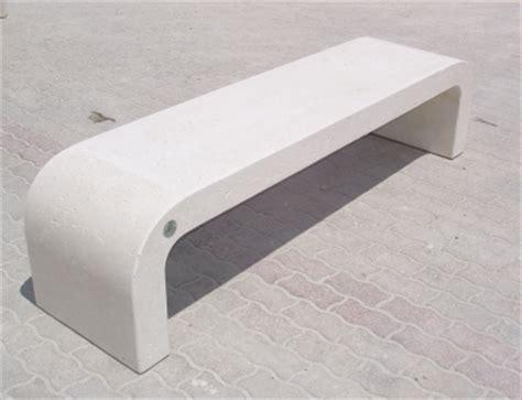 panchina cemento arredi in cemento