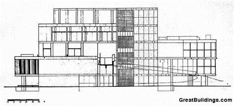Building Plan Drawing great buildings drawing carpenter center