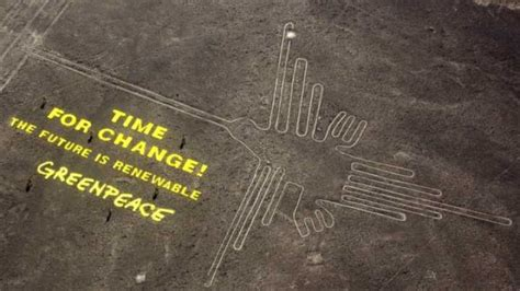 greenpeace irreparably damage ancient nazca lines iflscience