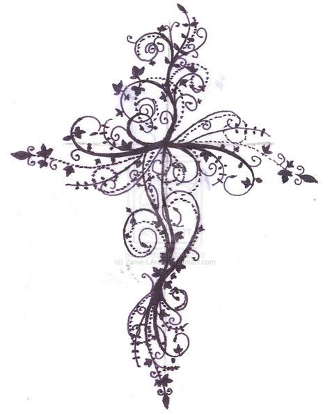 printable tattoo designs design gallery cross tattoos new tattoos jijek
