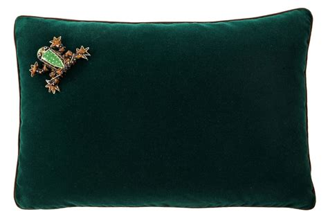 one dransfield ross frog 12x18 pillow