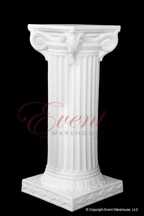 Plastic Pillars 24 Quot Empire Wedding Column Lightweight Plastic Columns For