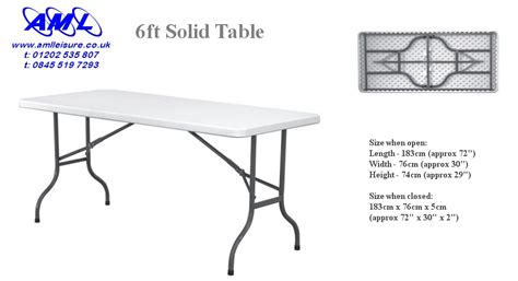 folding tables chairs banquet catering 5ft 6ft
