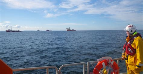 scottish fishing boat codes coastguard call off search for man who fell overboard from